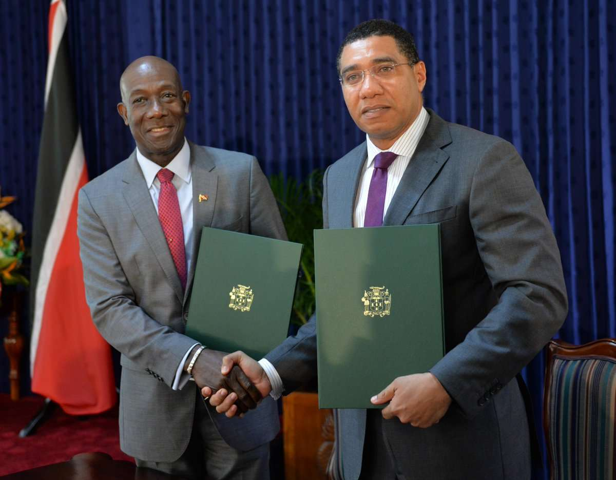 Holness to Continue Bilateral Talks in Port-of-Spain