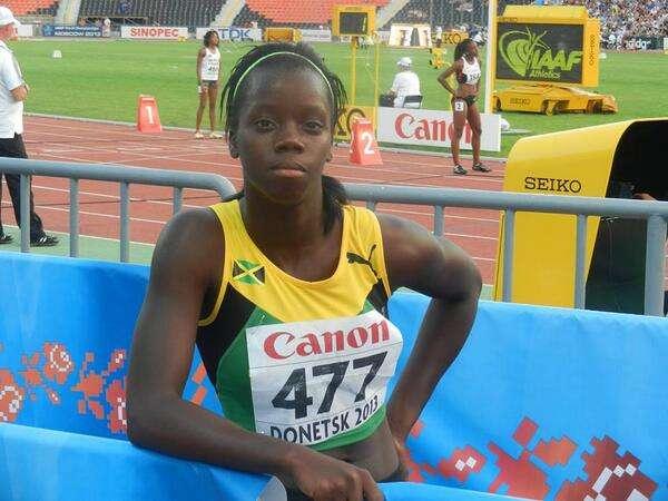 Tiffany James Mines 400m Gold at World Juniors