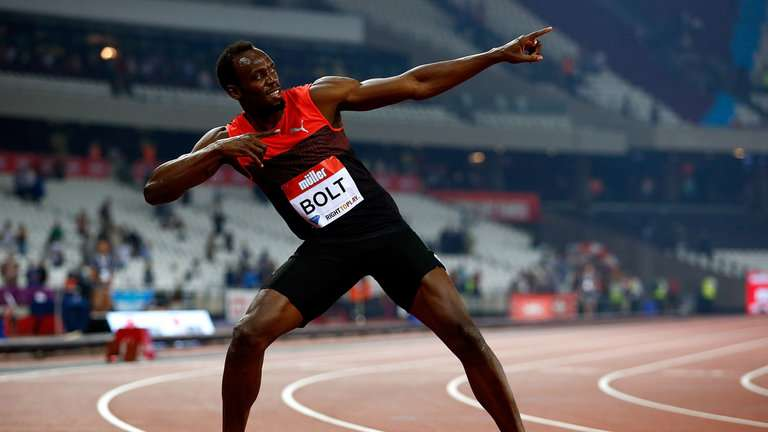 Usain Declares Fitness with 19.89 in London