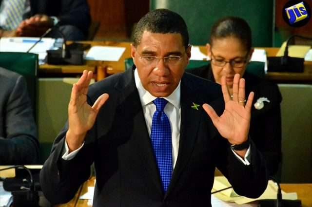 Holness Determined to have 'Profound' Impact on Levels of Violence