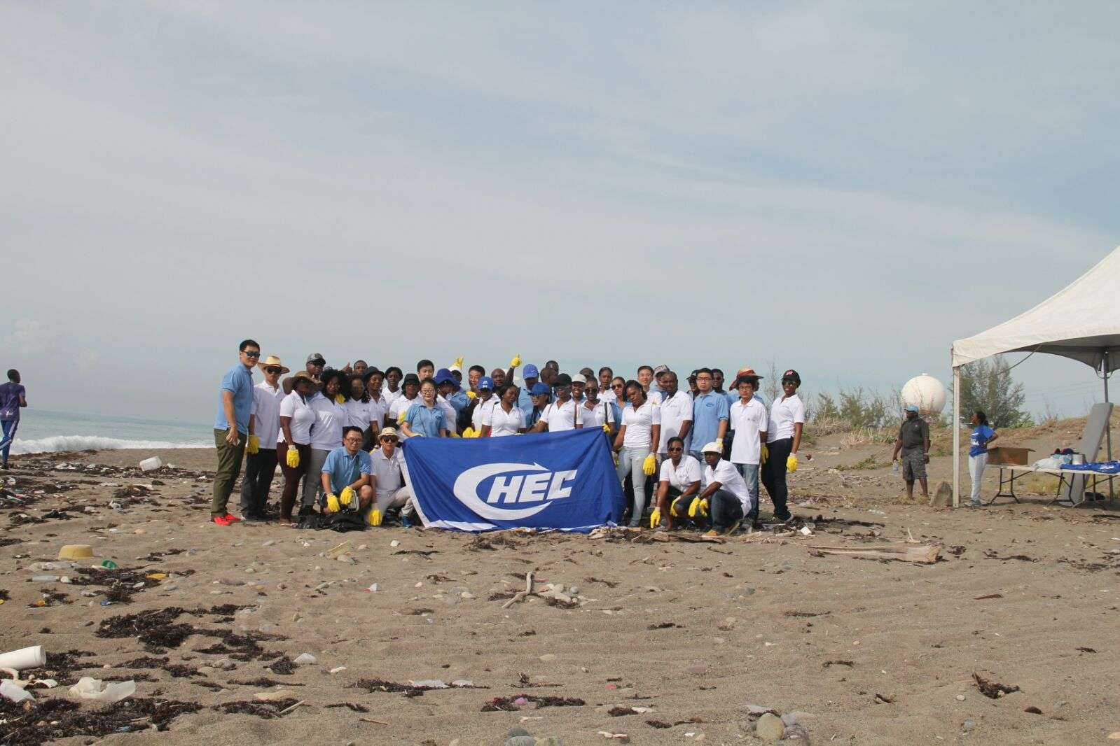 CHEC Staffers Support Coastal Cleanup