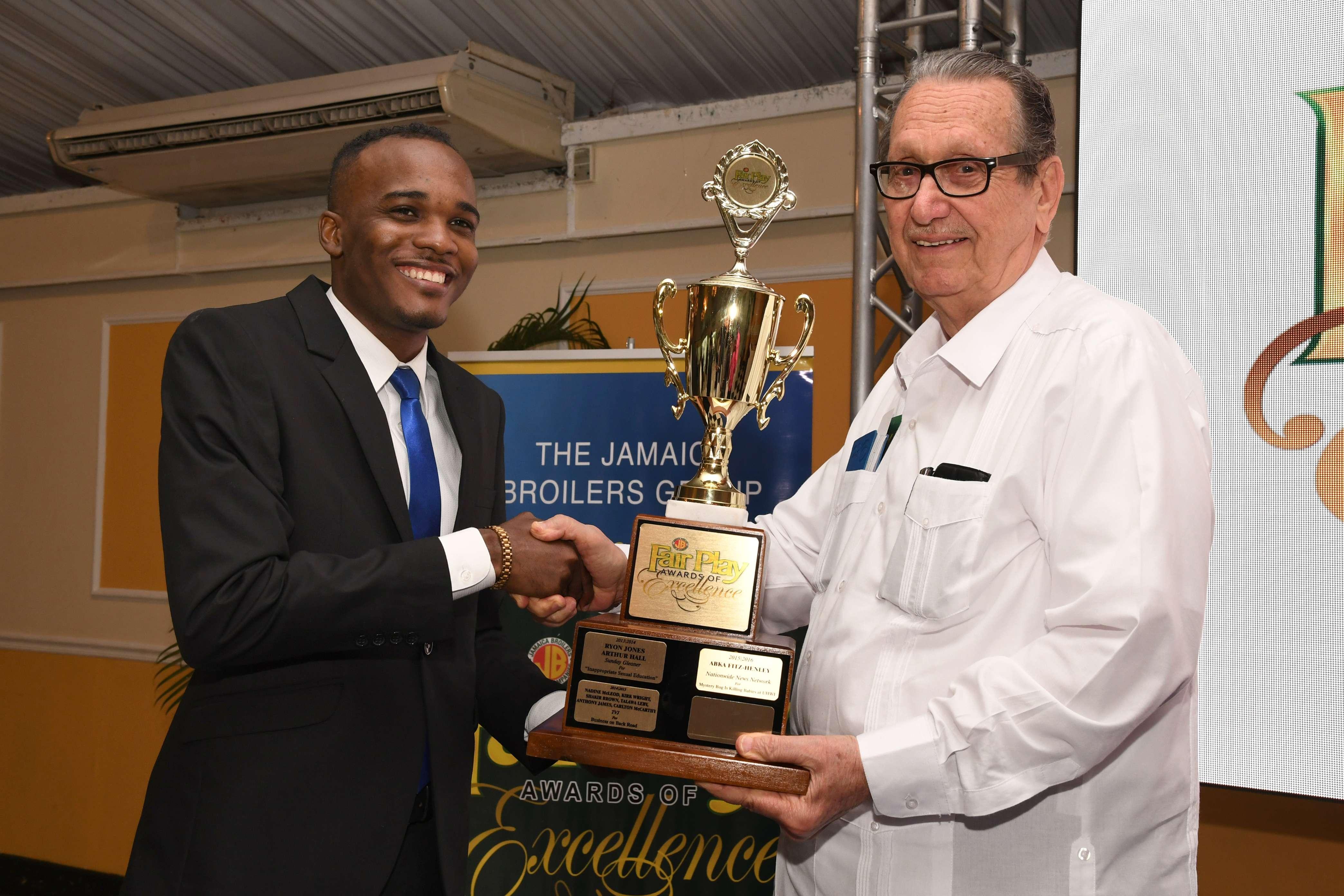 Abka Fitz Henley Wins Top Honours at Prestigious Fair Play Awards