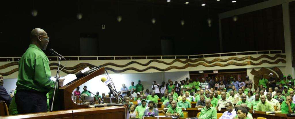 Holness Admin Bullish Following Announcement of Local Elections
