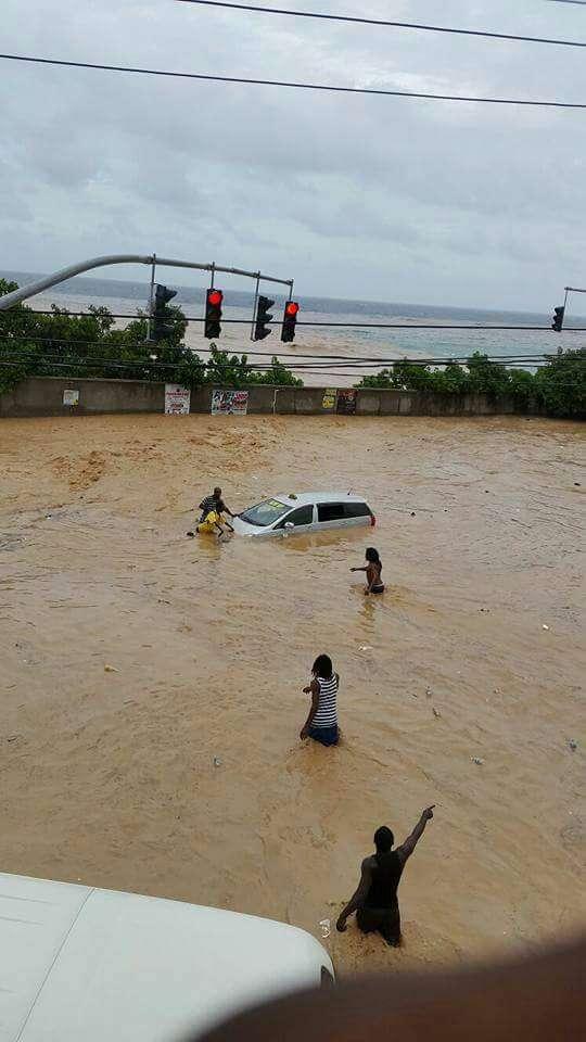 Flooding Wreaks Havoc in St Ann & St Mary
