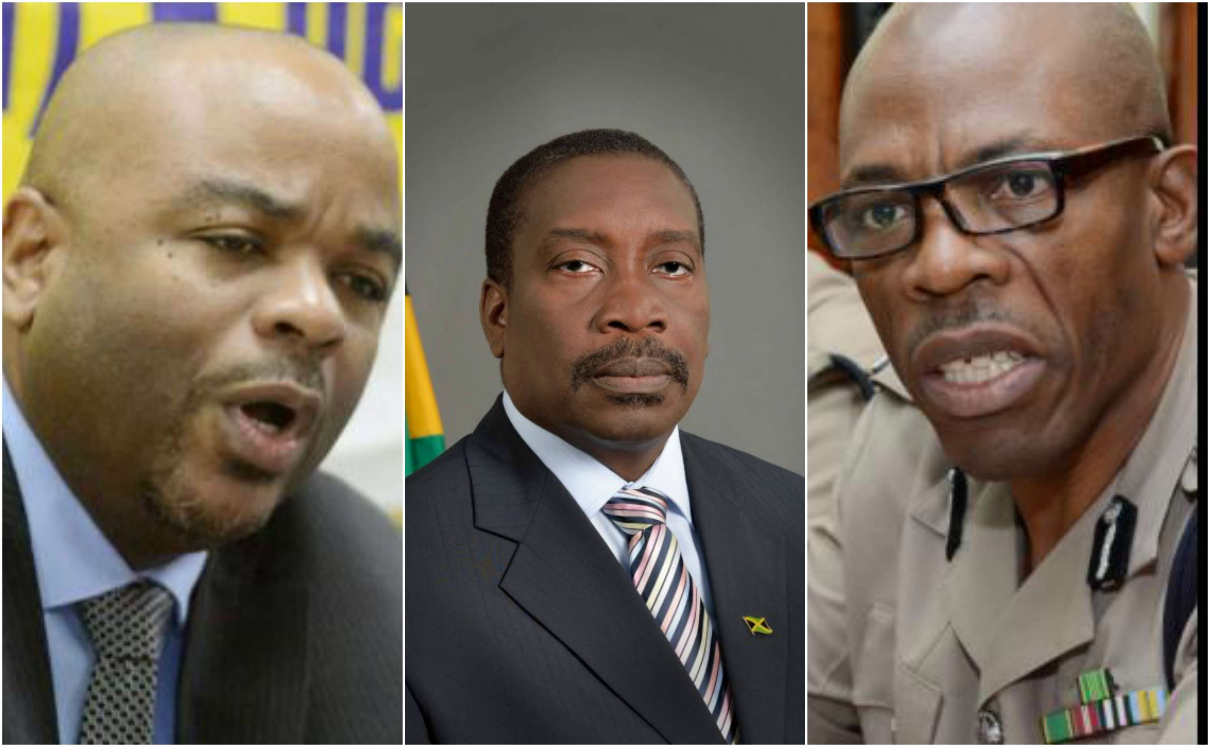Security Minister Meets with INDECOM & JCF Bosses