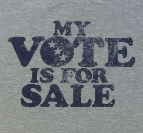 Pickersgill Raises Vote Buying Concerns
