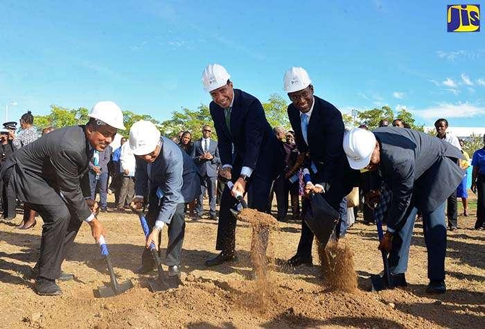 Holness Breaks Ground for Informatics Park