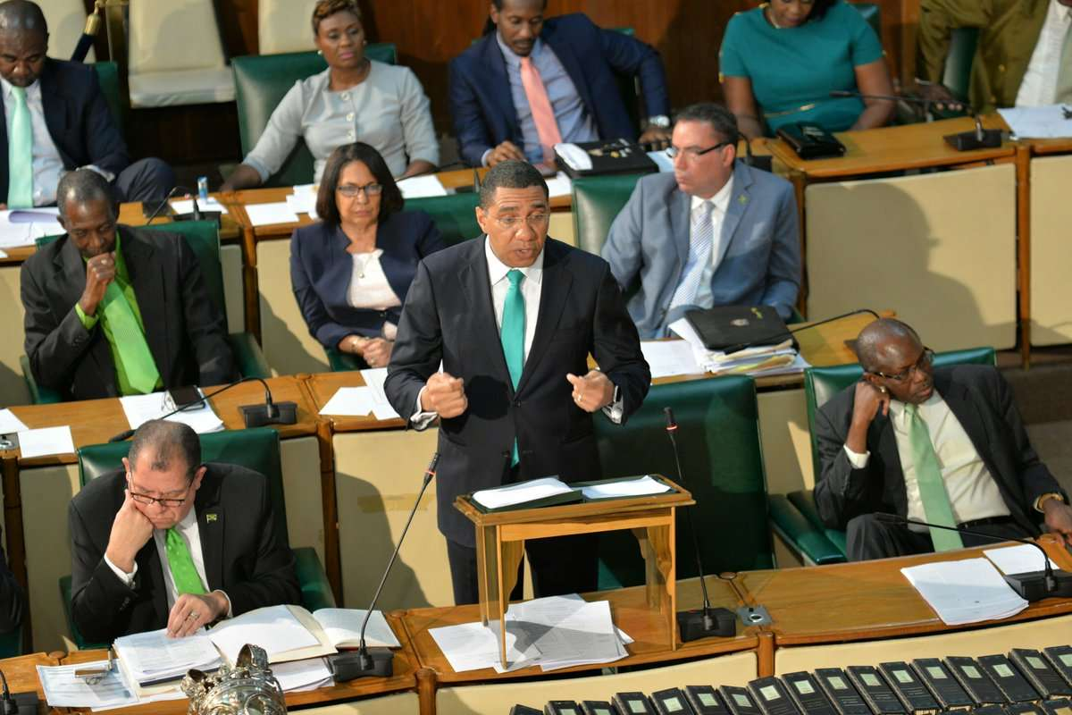 Holness Outlines 'Clear, Hold, Build' Crime Strategy