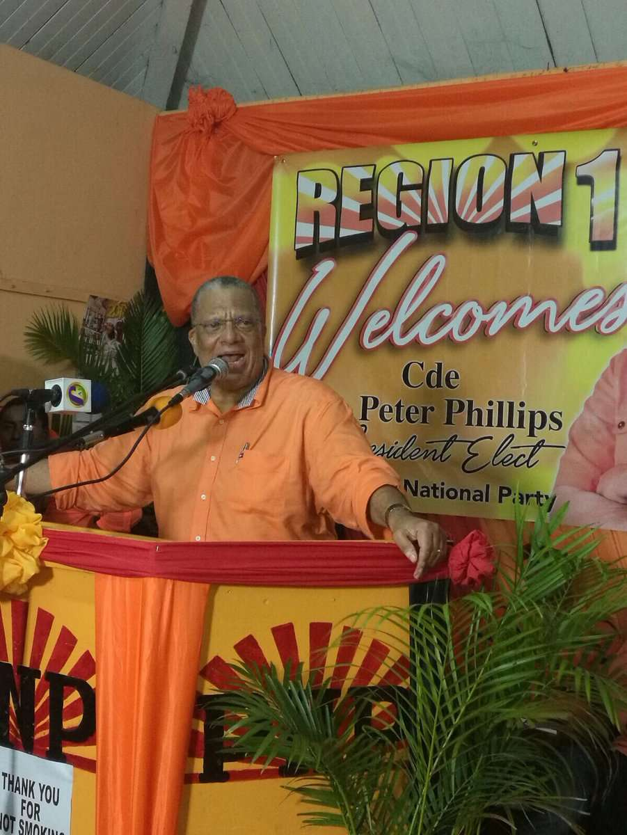 Phillips to be Affirmed as PNP President Sunday