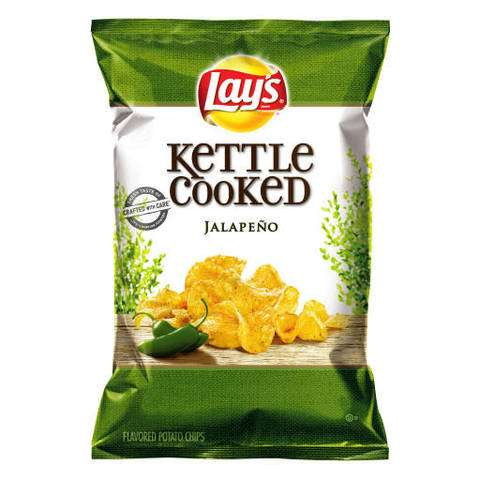 Frito-Lay Recalls Kettle Cooked Jalapeño Chips