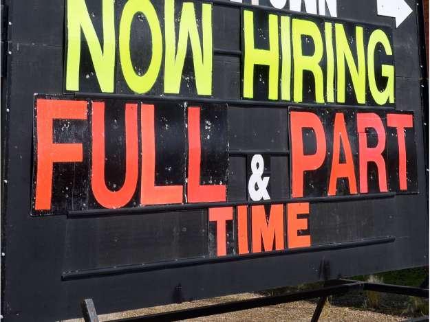 Employment Numbers Edge Upwards
