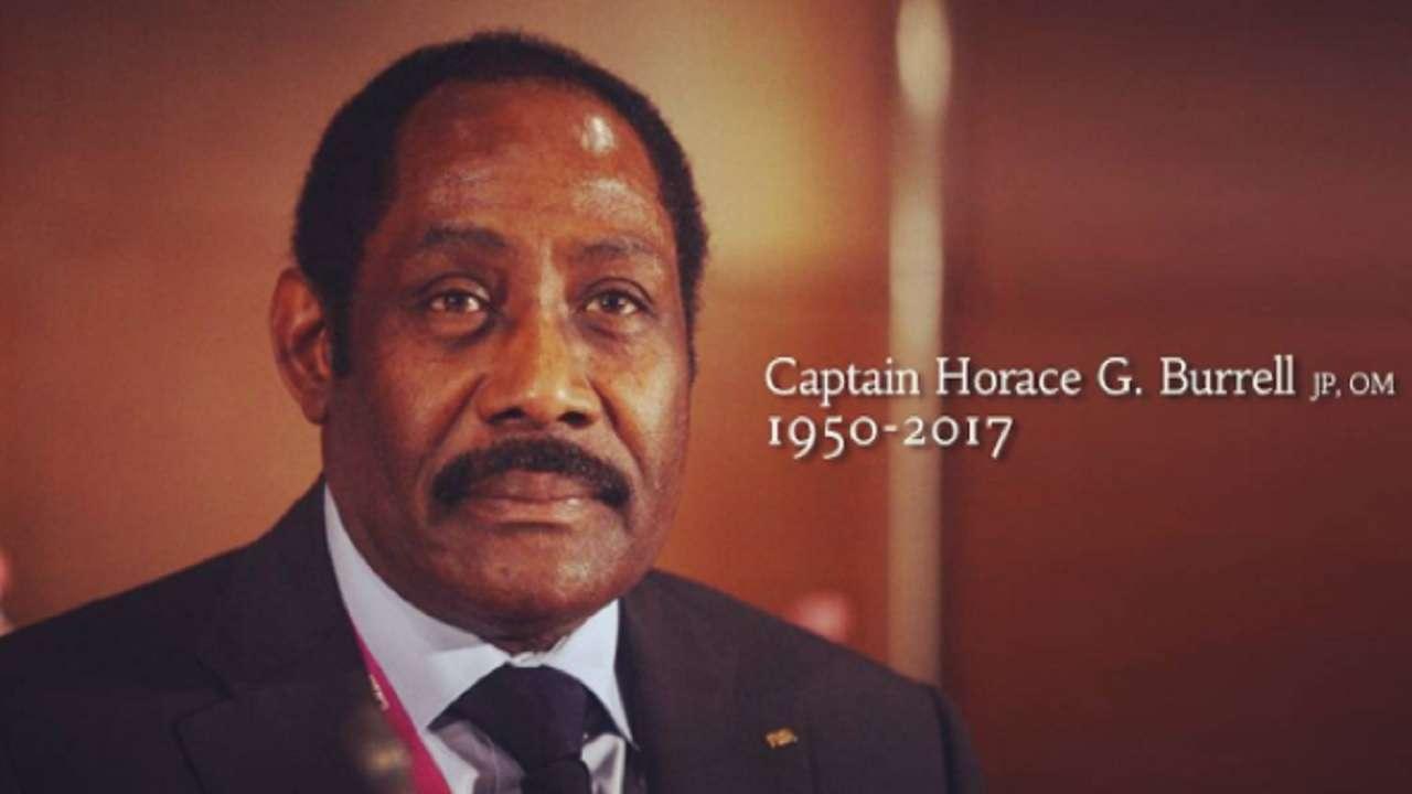 Jamaica Football Federation President, Captain Horace Burrell, is dead.