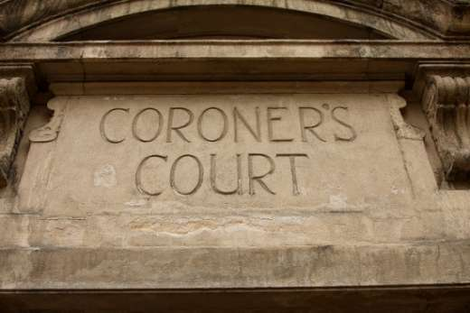 Coroner's Court and Special Coroner's Court open next Monday.
