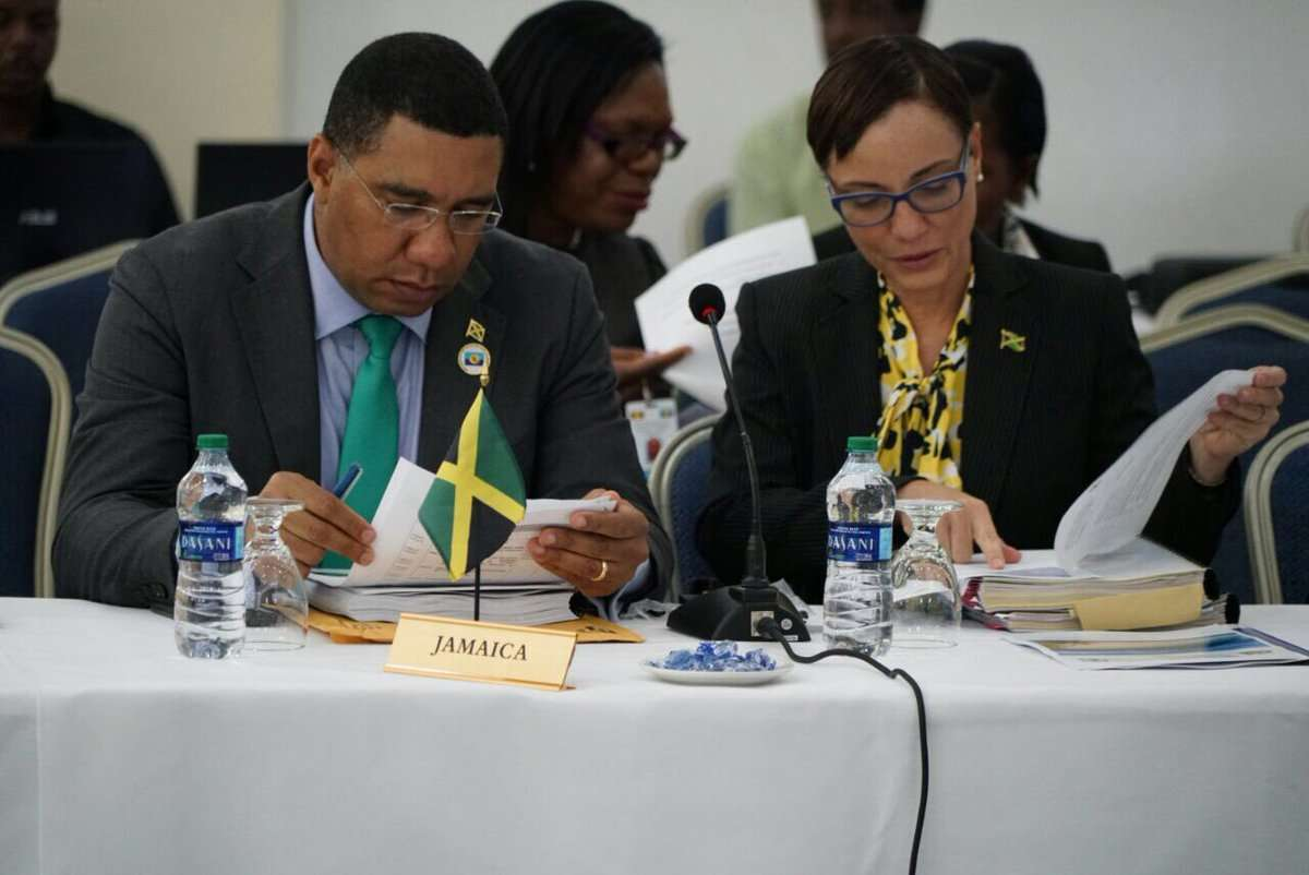 Holness Urges Full Implementation of CSME