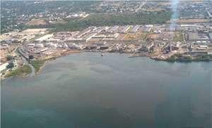 Oil Spill in Kingston Harbour