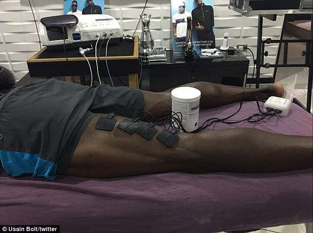 Bolt Confirms Grade 4 Hamstring Tear