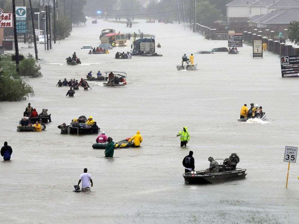 Jamaican-Texan Family Rescued from Harvey's Rising Waters
