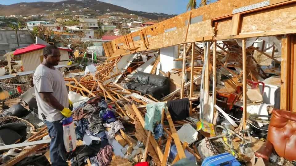 Dominica Devastated by Hurricane Maria