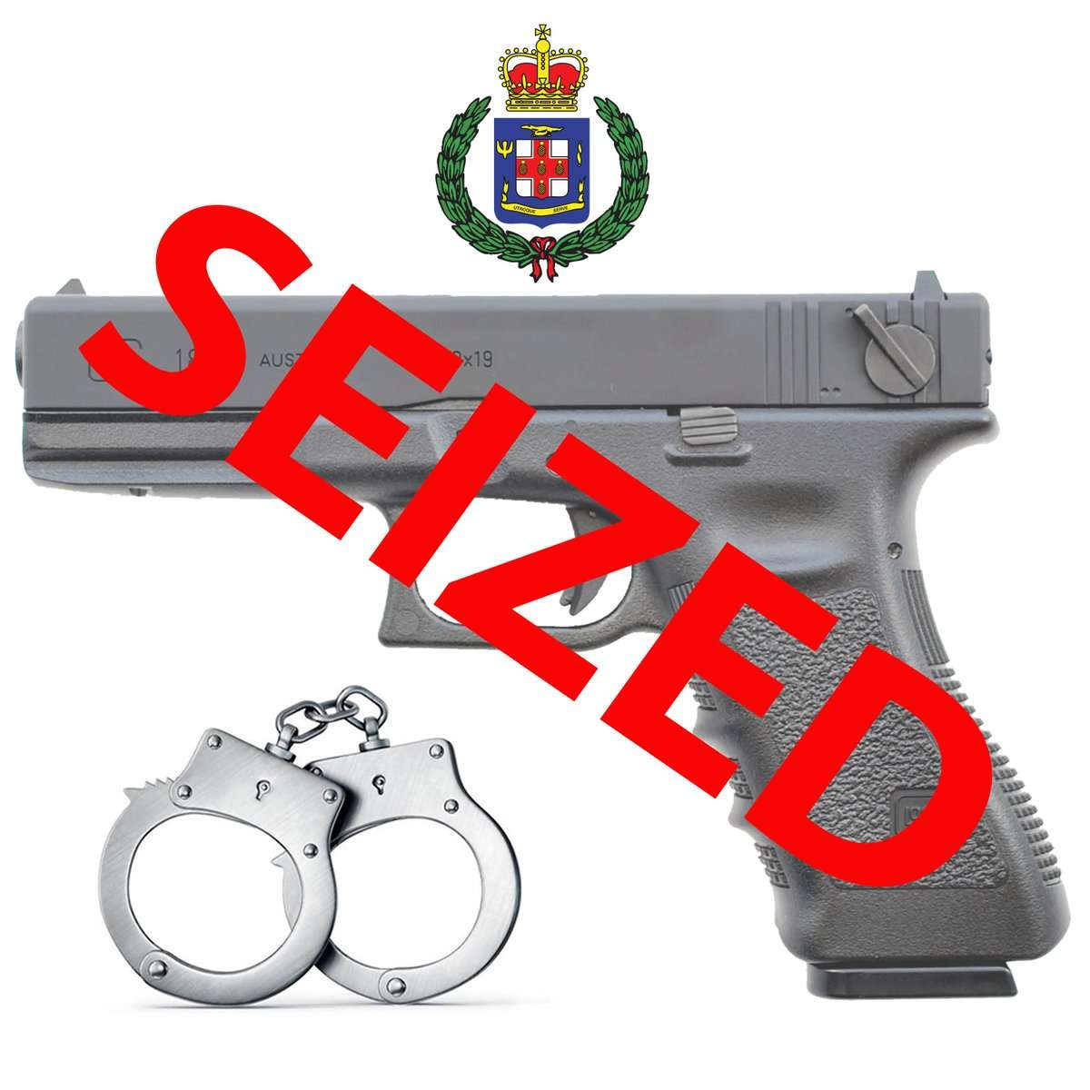 Two Pistols Seized in Separate Incidents in Westmoreland and Trelawny
