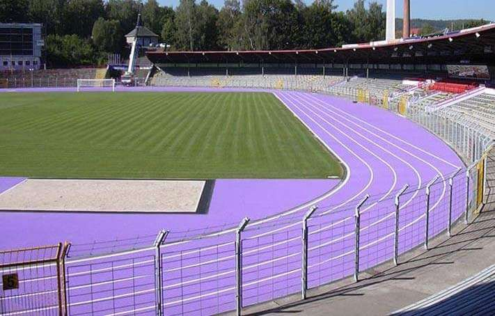 KC Commissions Synthetic Running Track