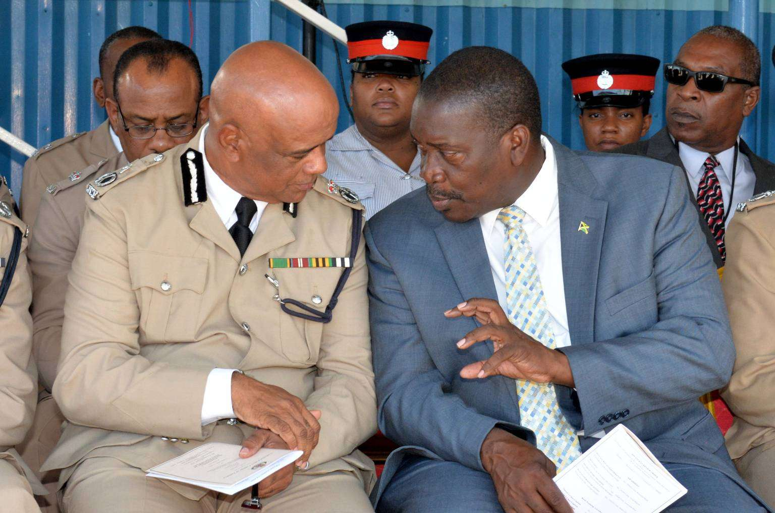 Security Minister Reiterates Call for JCF Promotions