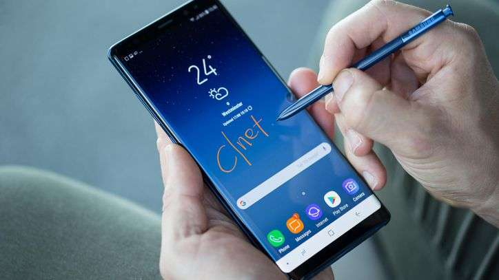 Samsung Galaxy Note 8 Clocks Record Numbers