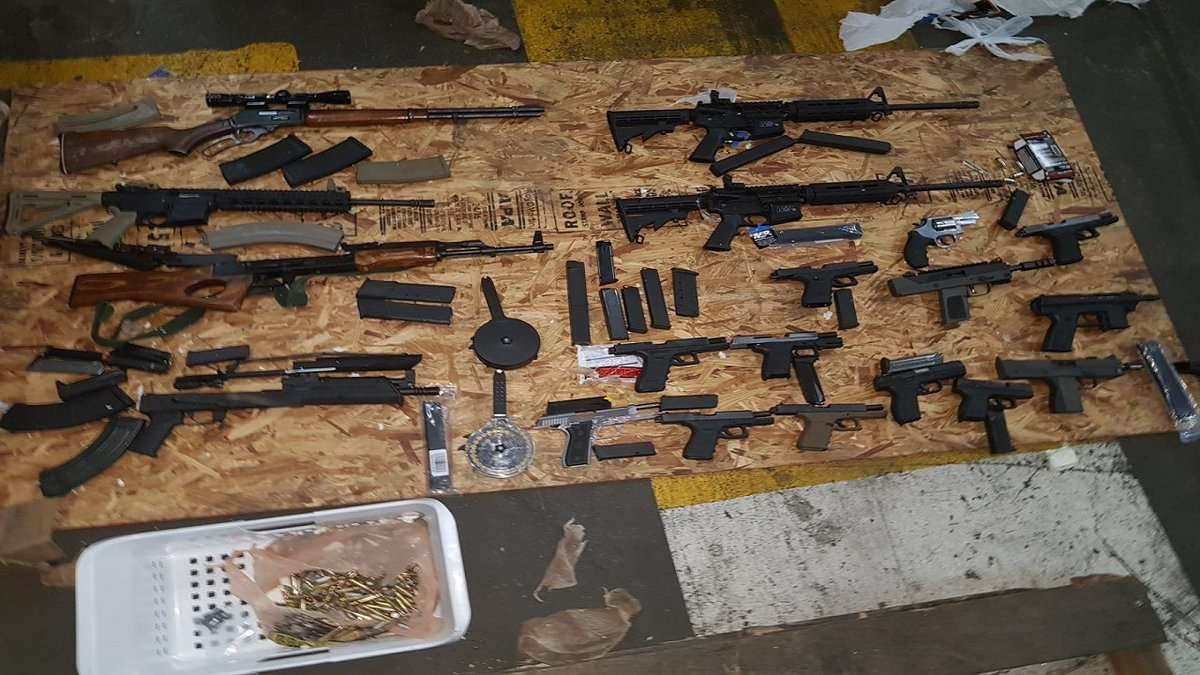 19 Guns Seized in Massive Find at Kingston Container Terminal