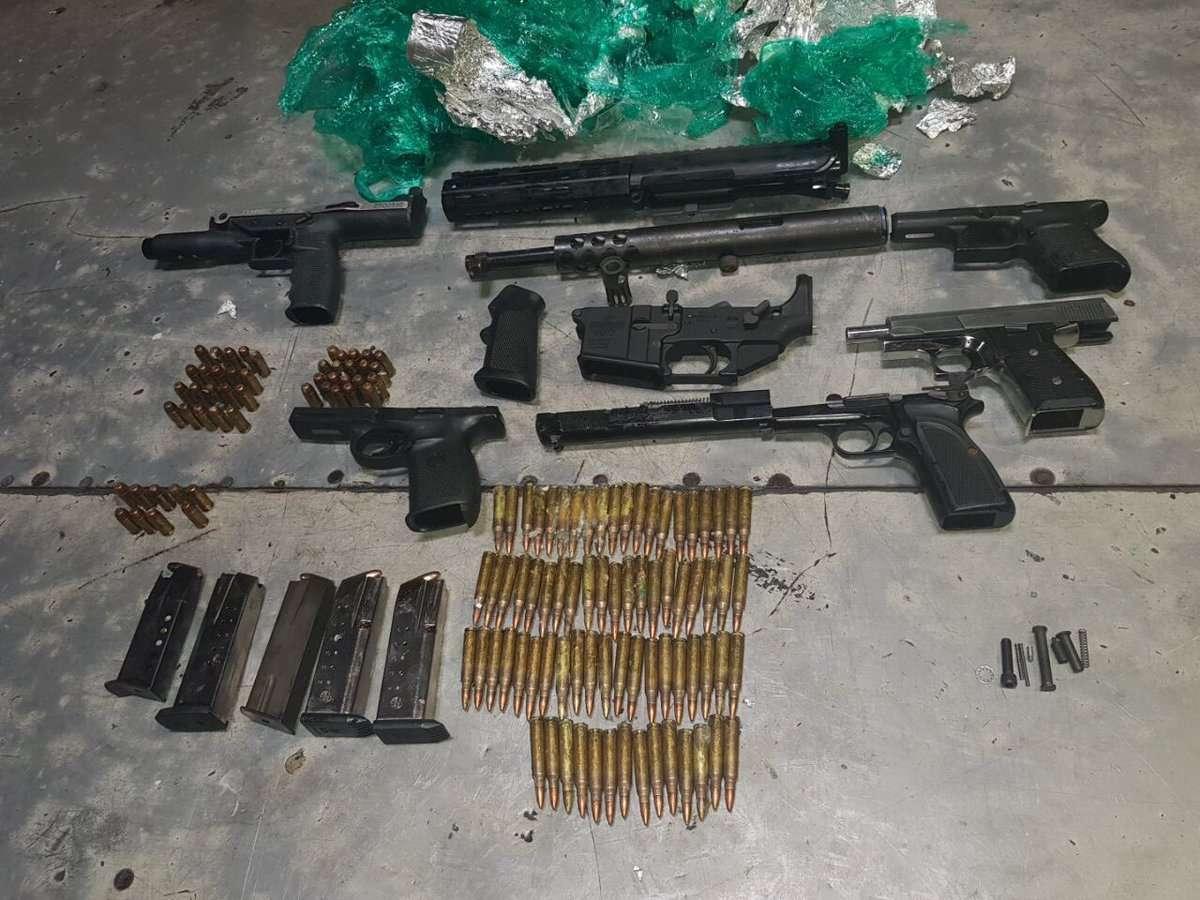 Massive Gun Find at Newport West