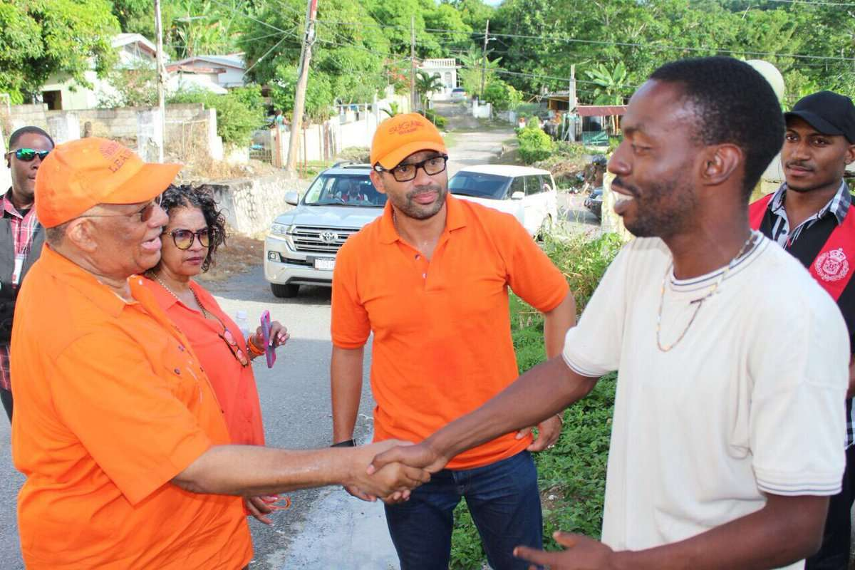 Phillips Urges SE St Mary to Send JLP Strong Message