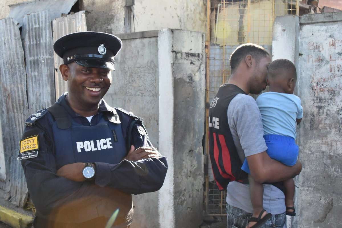 Denham Town Residents Pleased with Security Forces ZOSO Behaviour