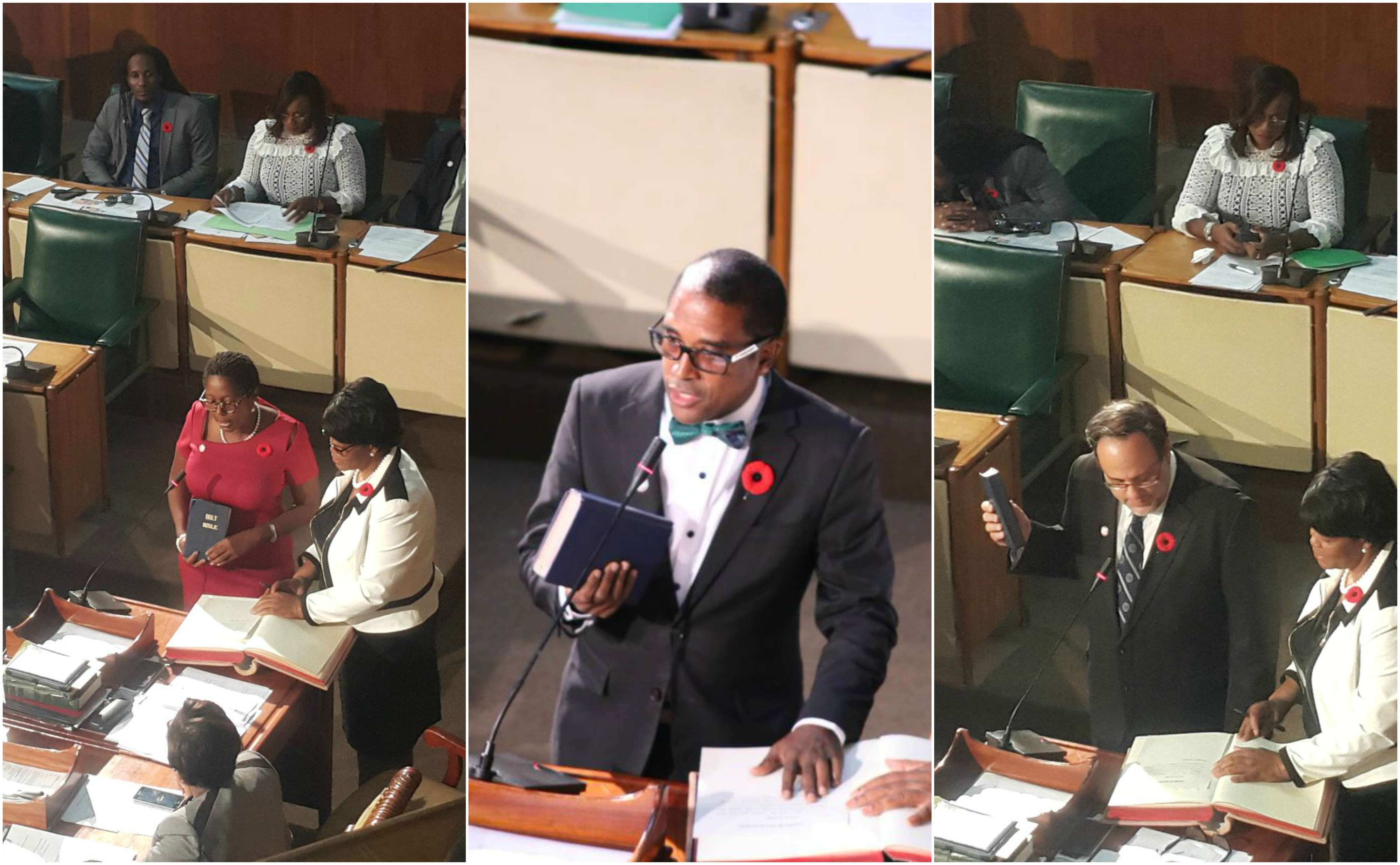 New MPs Sworn In