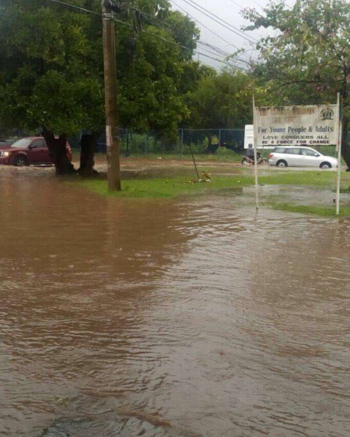 30 Days of Rain Dumped on Mobay in 24hrs