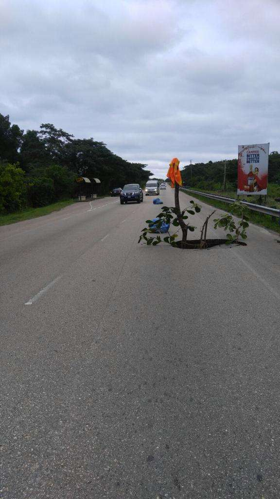 Falmouth Bypass Closed following Collapse of Section