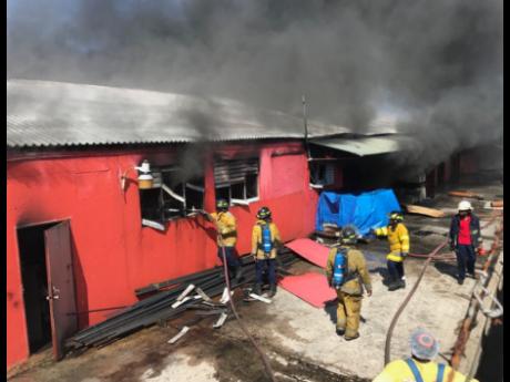 Geddes Refrigeration Razed by Fire