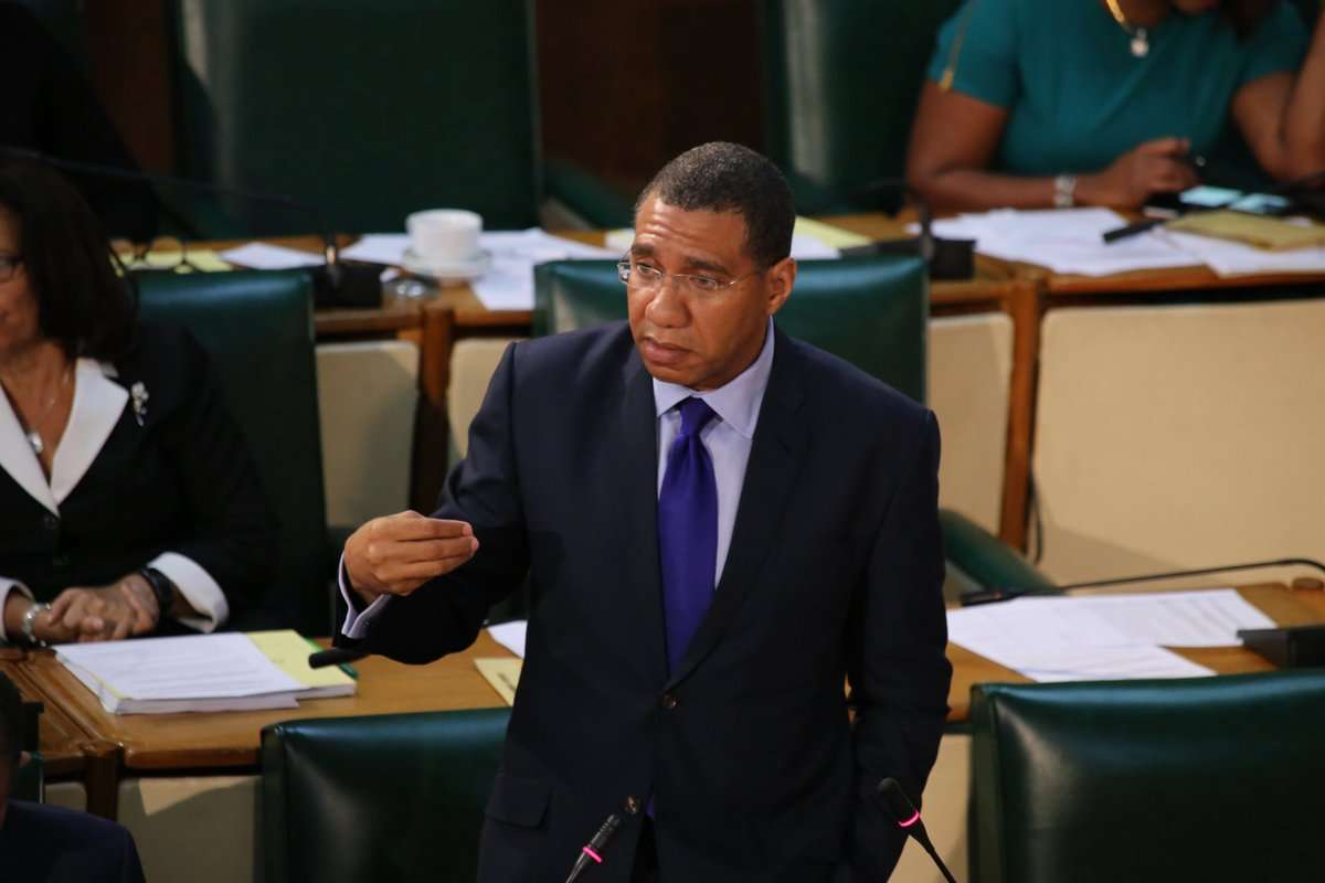 Holness Urges Opposition to Support Extension of Security Measures