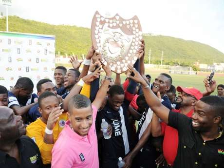 JC Jubilant after Clinching 5th Straight OIivier Shield