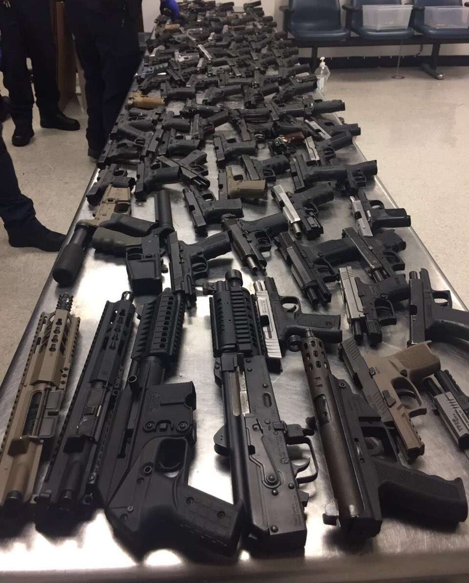 Local and US Authorities Step Up Probe into Massive Arms Find