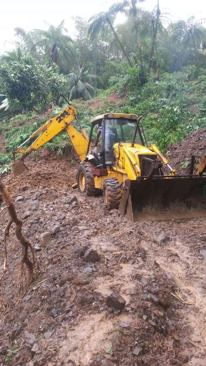 NWA Working to Clear Several Blocked Roads Following Heavy Rains