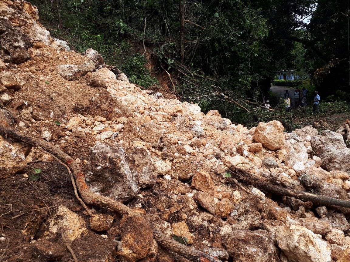 Rain Renders Several Roads Impassable in Western Jamaica
