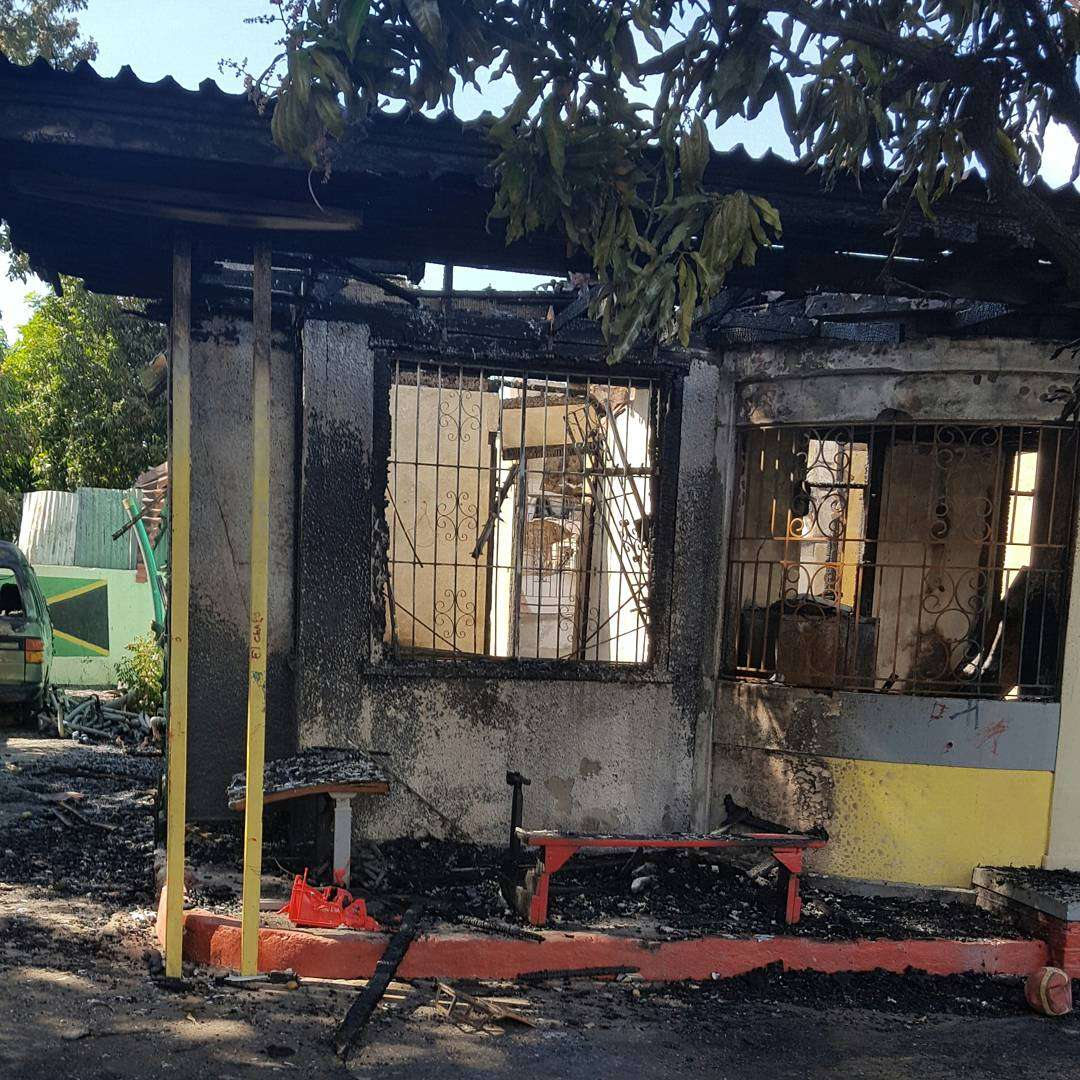 Two Children Perish as Fire Destroys Walkers Place of Safety