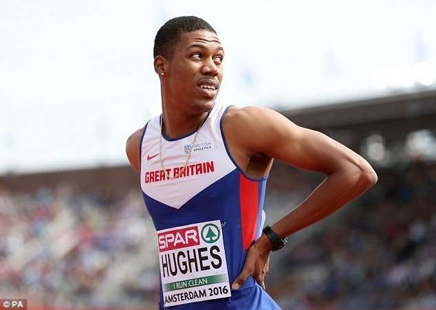 British Sprinter Escapes Injury after Attempted Robbery