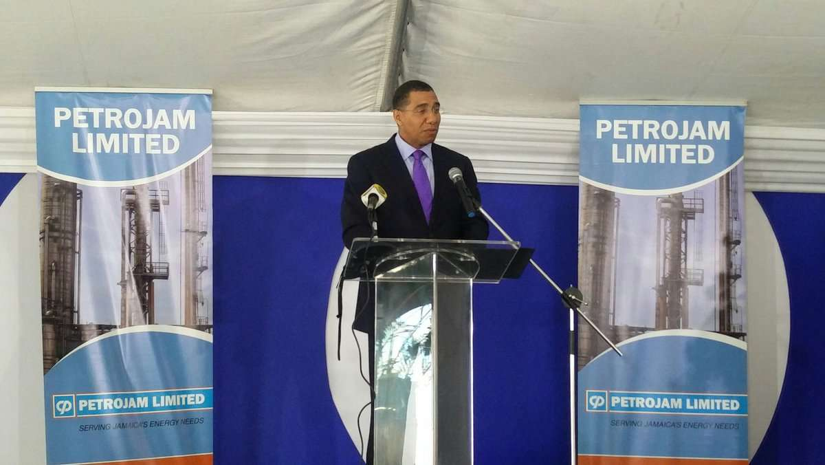 Holness Denies Claims Venezuela Excluded from PetroJam Refinery Upgrade