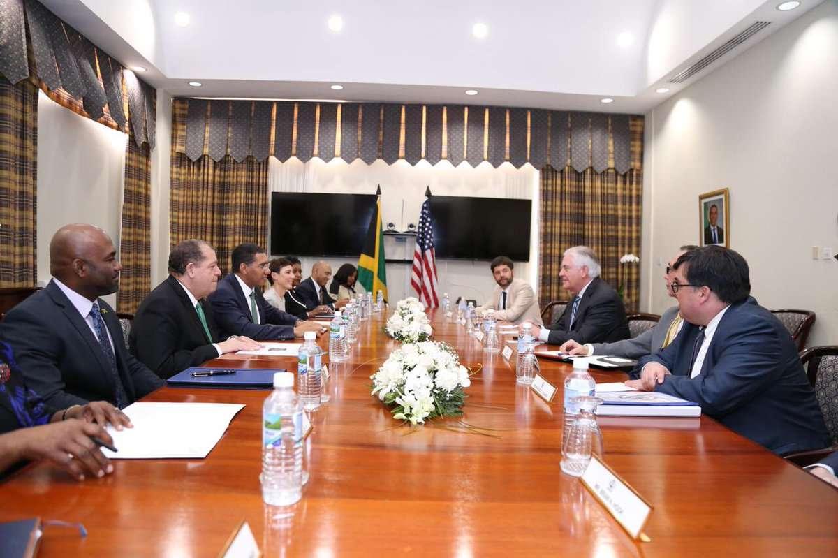 Energy Security High on Agenda of Jamaica-US Talks