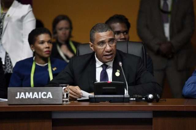 """Jamaica Turning the Corner of """"Sustained Fiscal Stability"""", says Holness"""