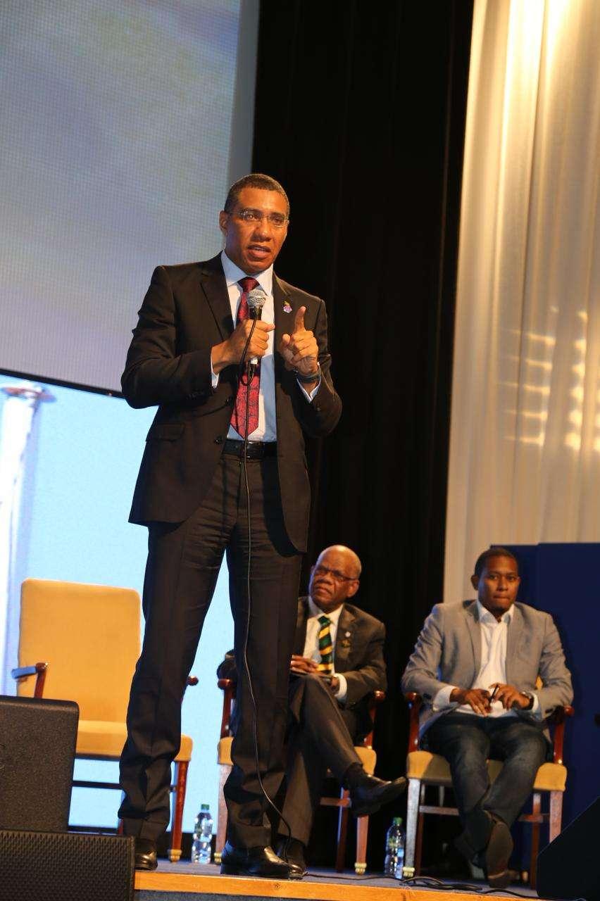Holness Reiterates Pledge to Fix Crime Plague