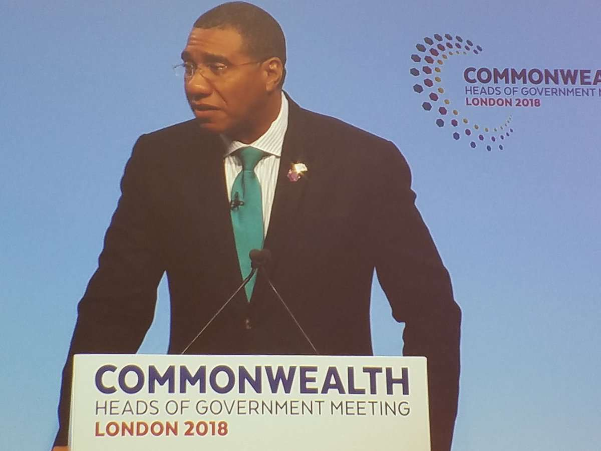 Holness Urges Commonwealth to Adopt New Approach to Climate Change Assistance