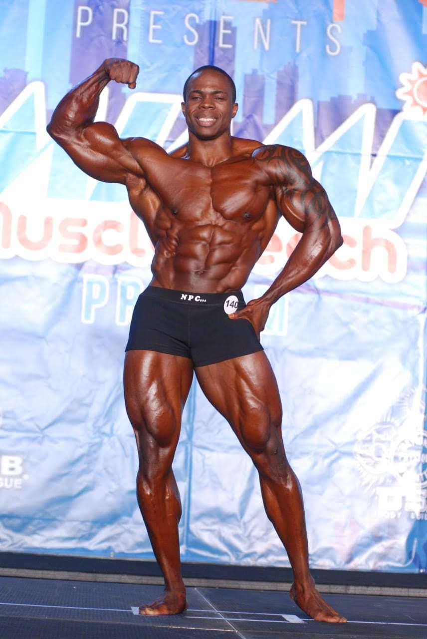 Dwayne 'Thugnificent' Walker Sweeps Miami Muscle Expo