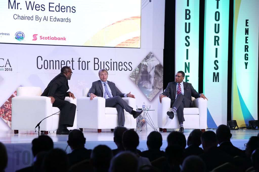 PM Makes 'Big Pitch' at Jamaica Investment Forum