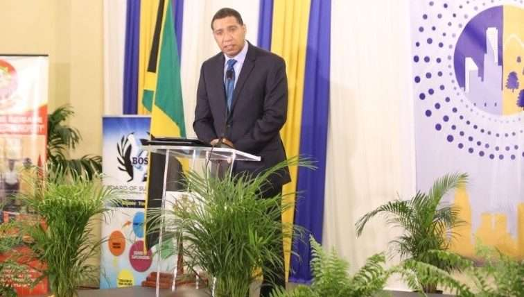 Holness Aims To Set Housing Solutions  Construction Record