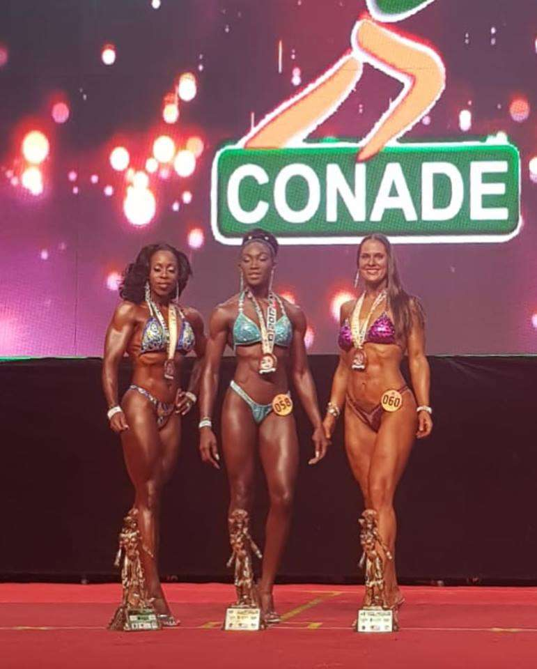 "Kristen McGregor Crowned ""Miss Body Fitness"" at CAC Championships"